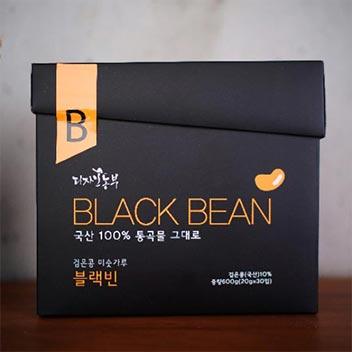 국내산 검은콩 미숫가루 20gx30입 (스틱)