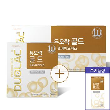 [추석/10일증정] 듀오락 골드 3개월(30일+65일)+증정10일+쇼핑백