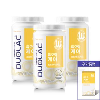 [추석/10일증정] 듀오락 케어 3개월+증정10일+쇼핑백