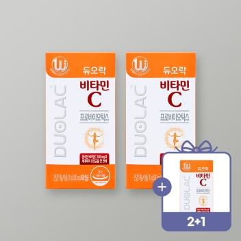 [2021추석/2+1] 비타민C 3개+쇼핑백