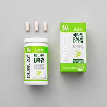 듀오락 비타민B복합 유산균 (30일분/60C)