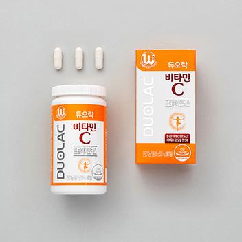 듀오락 비타민C 유산균 (30일분/60C)