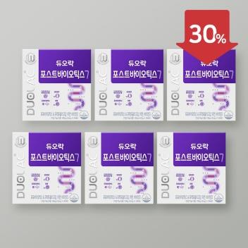 [2021추석/30%] 포스트바이오틱스 6개월+쇼핑백