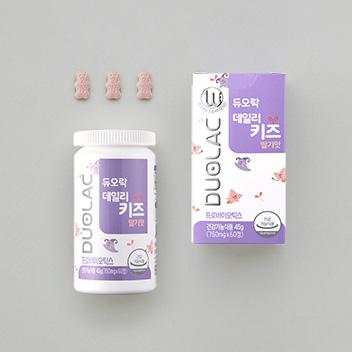 듀오락 데일리키즈 딸기맛 (30일분/60정)